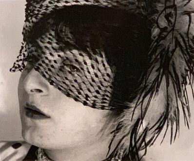 Ringl + Pit, 'Pit with Veil, Berlin, 1930, Portrait of Ellen Auerbach by Grete Stern', 1930