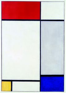 Piet Mondrian, 'Composition with Red, Yellow and Blue', 1927