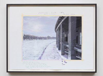 David Claerbout, 'Olympia (Januari 2018 -4°)', 2017