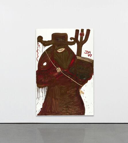 Jonathan Meese, 'Don Panzerfaust mit Feengesichtchen (gräuliche Diamantin - die Zahnvölkische)', 2007