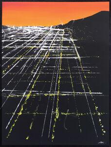 Pete Kasprzak, 'Melrose Sunset Aerial', 2019