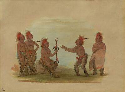 George Catlin, 'Black Hawk and the Prophet - Saukie', 1861/1869