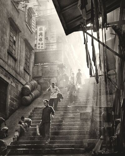 Fan Ho, ''Steps in Light and Shade 階梯光與影' Hong Kong', 1950/60s
