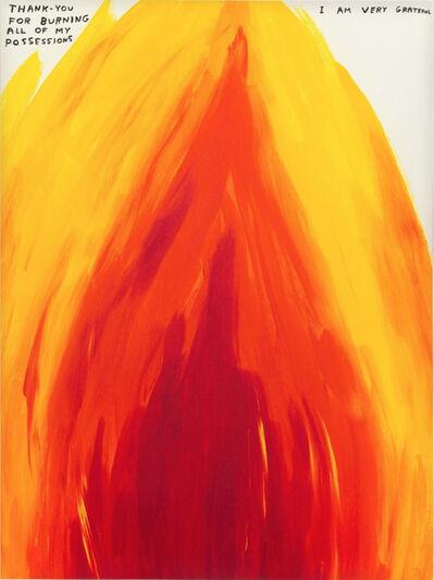 David Shrigley, 'Flame', 2019