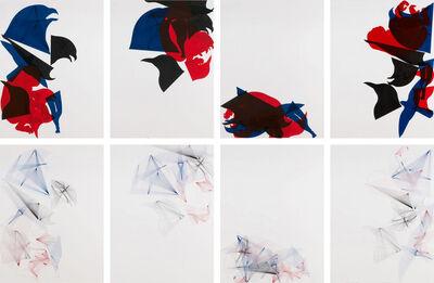 Carlos Amorales, 'Skeleton Images: Azar Compositions', 2010