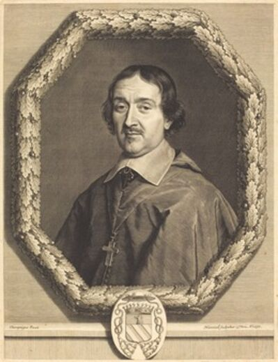 Robert Nanteuil after Philippe de Champaigne, 'Francois Servien', 1656