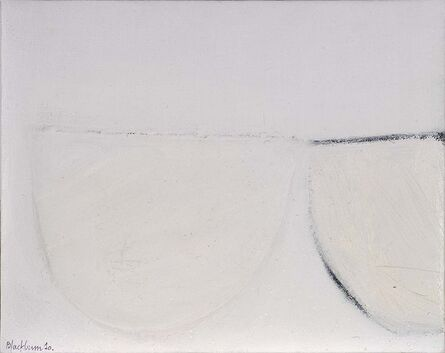 John Blackburn, 'Two White Cups ( from Cup Series)', 2010