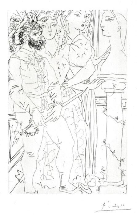 Pablo Picasso, 'Trois Comédiens Avec Buste de Marie-Thérese', 1933