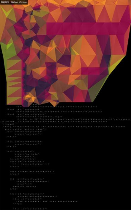 Jason Salavon, 'Local Index (Tessellated)', 2016