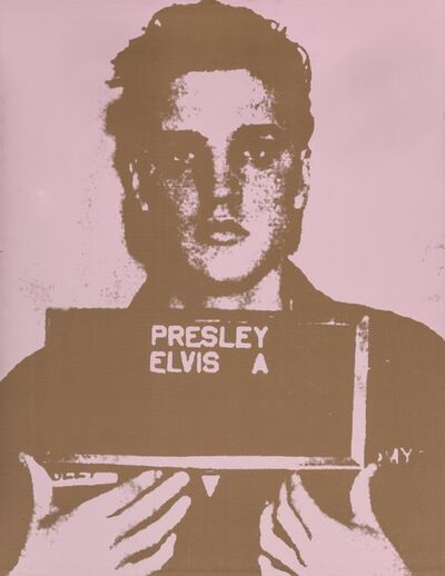 Russell Young, 'Army Elvis', 2004