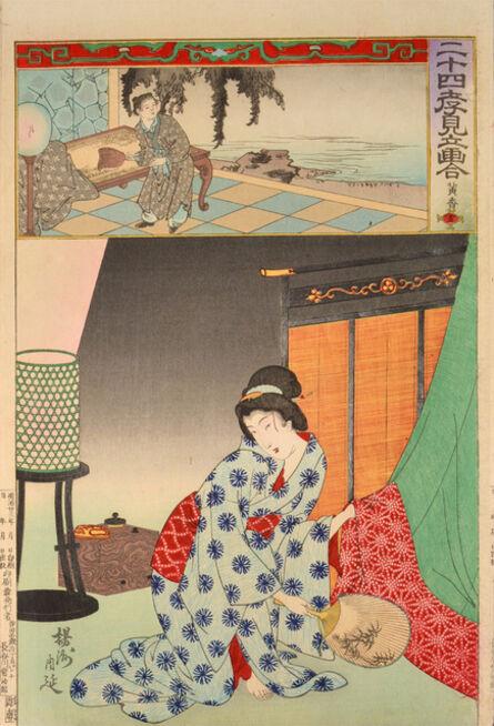 Toyohara Chikanobu, 'Koko (Huang Xiang) ', 1890