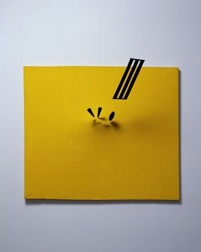 Takis, 'Magnetic Painting No. 7', 1962