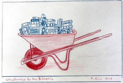Mark Dion, 'Wheelbarrow for the Bibliophile', 2019