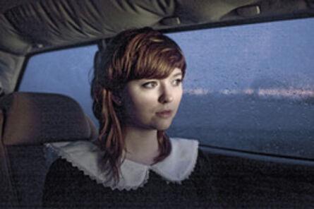 Maroesjka Lavigne, 'Hildur in Her Car, Mosfellbaer', 2012