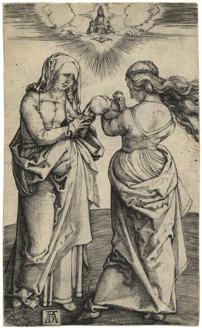 Albrecht Dürer, 'Madonna and Child with St. Anne', 1500