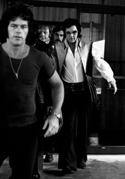 Ron Galella, 'Elvis Presley at the Hilton Hotel in Philadelphia', 1974