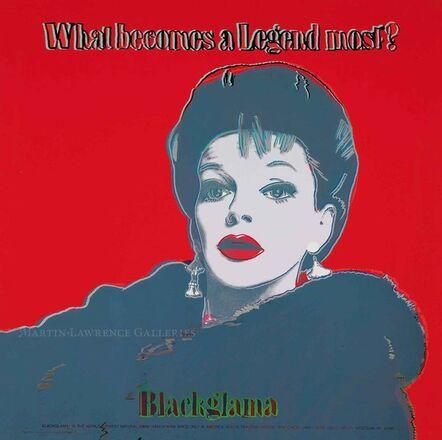 Andy Warhol, 'Blackglama, 1985 (#351, Ads) ', 1985