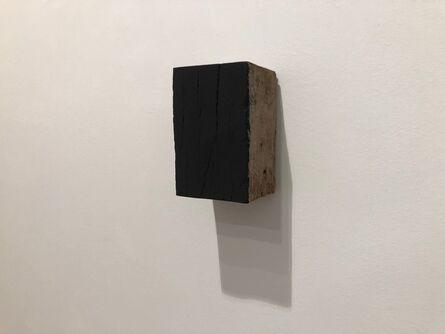 Marc Angeli, 'Black Block Old Wood', 2017