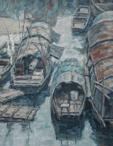 Chen Zhang Hong, 'Boat life (8)', 2006