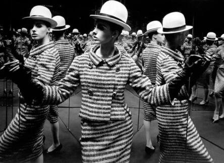 William Klein, 'Antonia + mirrors, Paris  (Vogue)', 1963