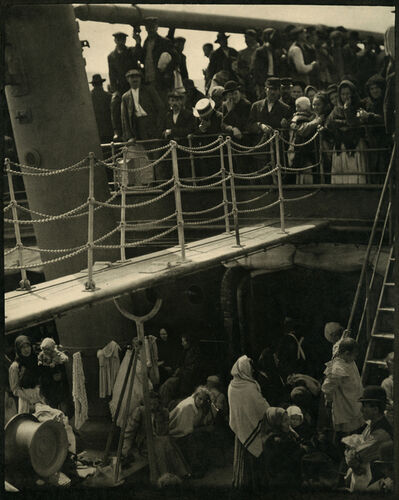 Alfred Stieglitz, 'The Steerage', 1907