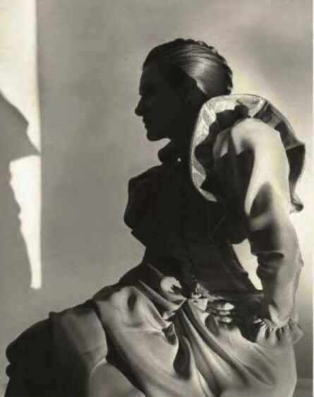 Horst P. Horst, 'Paloma Picasso in a Lagerfeld dress', 1979