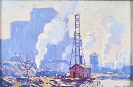 Everett Warner, 'Below Riverside Drive'