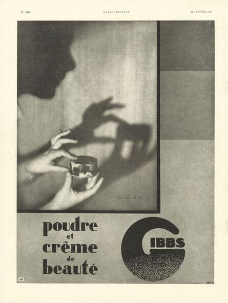 Germaine Krull, 'Advertising Gibbs ', 18 January 1930