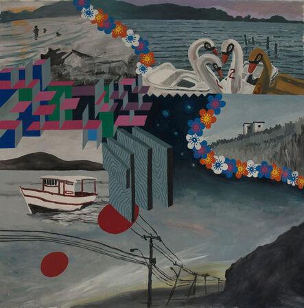 Patricio Cabrera, 'Um paseio pela lagoa', 2014
