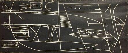 Hugh Mesibov, 'Traffic', 1951