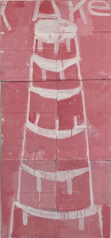 Gary Komarin, 'Creme on Pink ', 2020
