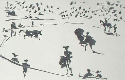 Pablo Picasso, 'El Toro Sale del Toril (The Bull Leaves the Bullpen)', 1959