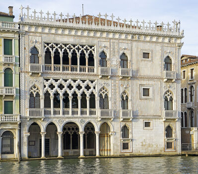 'Cantarini Palace, known as the Ca d'Oro, Venice', 1421-1437