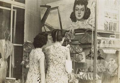 Chang Tsai 張才, 'Stylish Girl Shopping at a Department Store', 1944