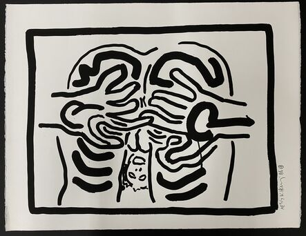 Keith Haring, 'Bad Boys', 1986