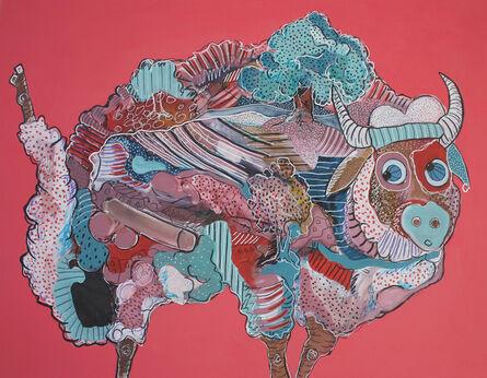 Bashir Qonqar, 'The Landscape in the Sheep', 2015