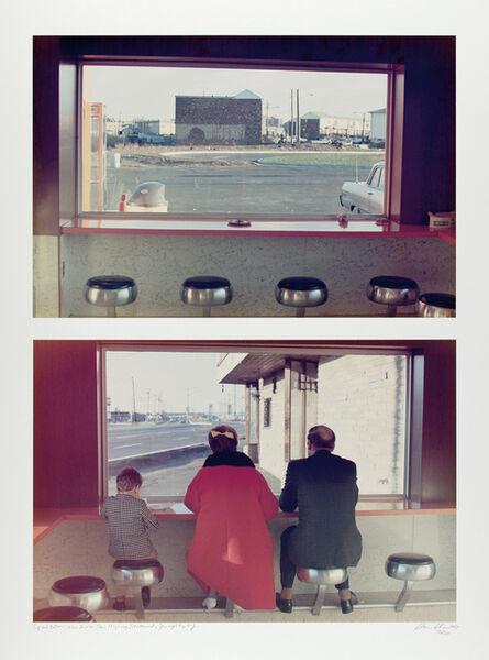 Dan Graham, 'View Interior, New Highway Restaurant, Jersey City, NJ (diptych)', 1968