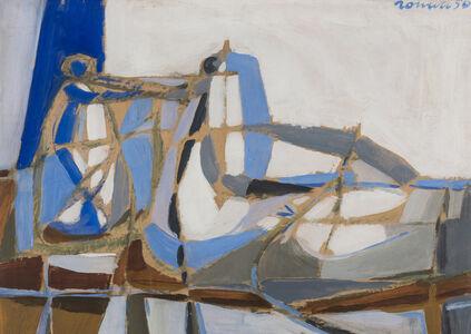 Sergio Romiti, 'Natura morta in azzurro', 1950