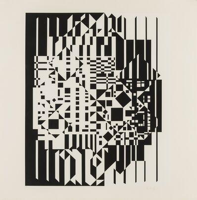 Victor Vasarely, 'Syrom', 1959