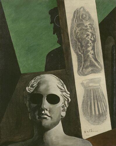 Giorgio de Chirico, 'Premonitory portrait of Guillaume Apollinaire', 1914