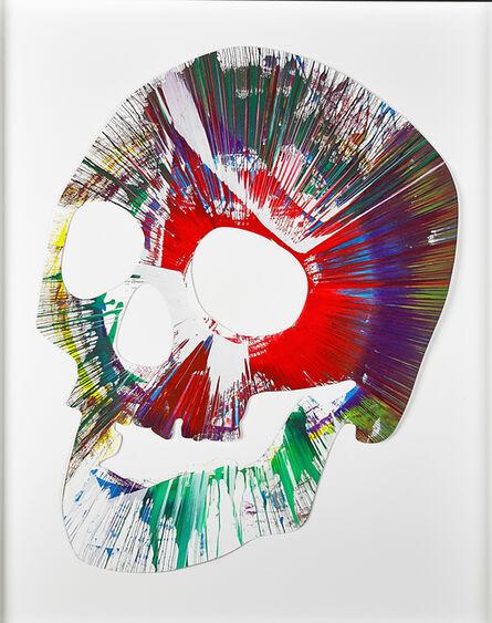 Damien Hirst, 'Skull Spin Painting', 2009