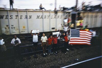 Paul Fusco, 'Untitled from RFK Funeral Train', 1968/ Printed 2008