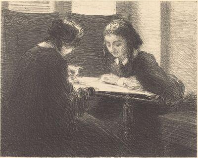 Henri Fantin-Latour, 'The Embroiderers (Les brodeuses)', 1898