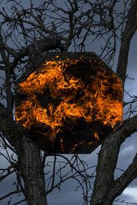 William Joe Josephs Radford, 'Bonfire I', 2021
