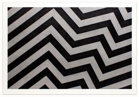 Sol LeWitt, 'Irregular Bands Black and Gray', 1994