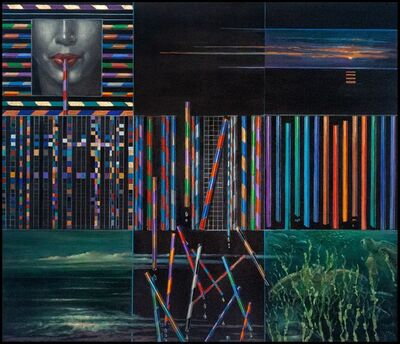 Elizabeth Myers Castonguay, 'The Last Straw (Tapestry of Nature)', 2020