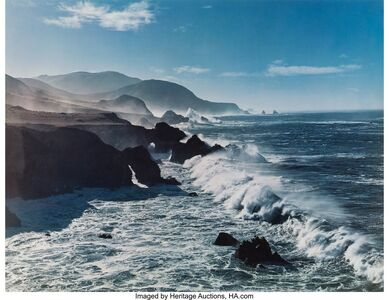 Cole Weston, 'Palo Corona Ranch, Caramel, 1962 and Surf and Headlands, 1958'