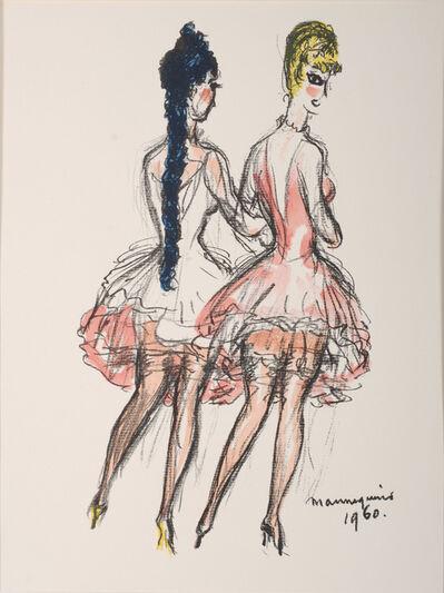 Kees van Dongen, 'Mannequins, Regards sur Paris', 1960