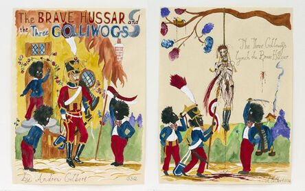 Andrew Gilbert, 'The BRAVE HUSSAR and the THREE GOLLIWOGS: The Three Golliwogs Lynch the Brave Hussar', 2012