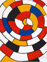 Alexander Calder, 'Spiral from the portfolio Magie Éolienne', 1972